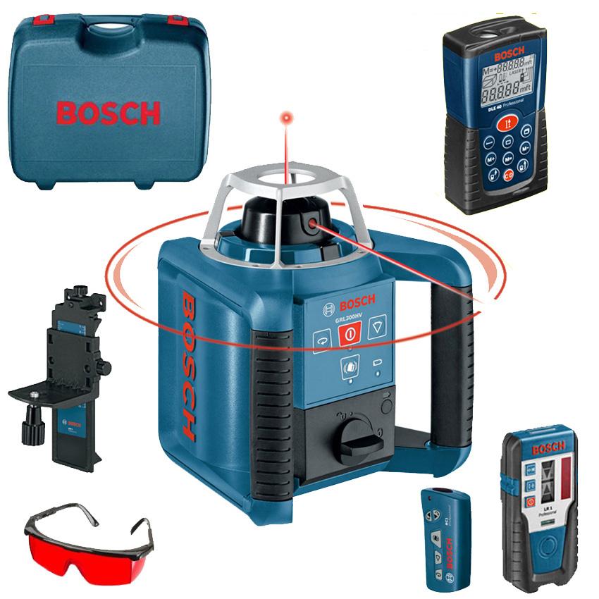 BOSCH Professional Nivela laser rotativa + Telecomanda 0615994D93