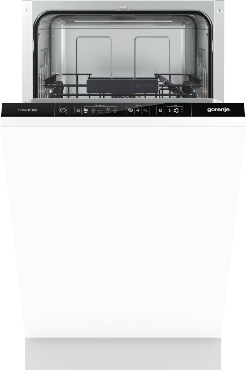 Transport Gratuit - Masina de spalat vase total incorporabila Gorenje GV55110, A++, 45 cm