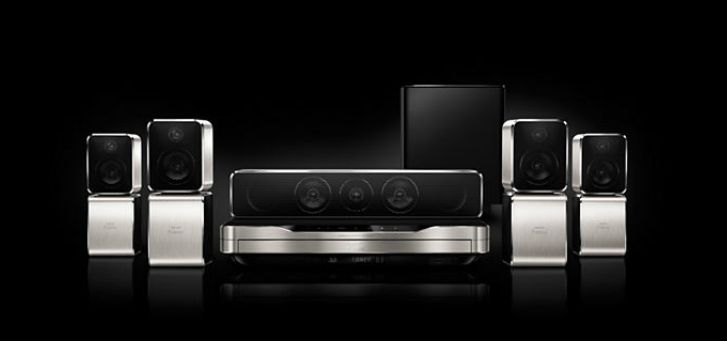 Home Theater 5.1 Philips HTB9550D/12, Blu-ray 3D