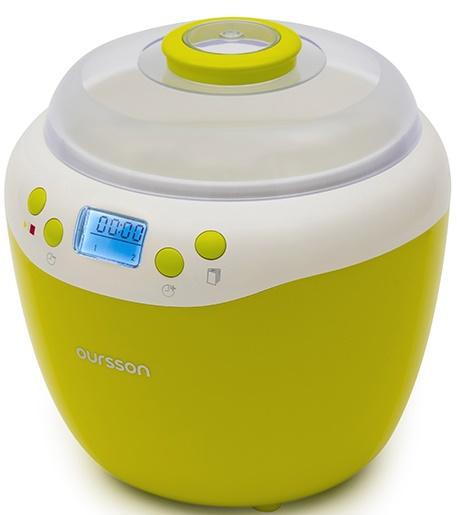Aparat de facut iaurt-fermentator Oursson FE2103D/GA, 20W, verde