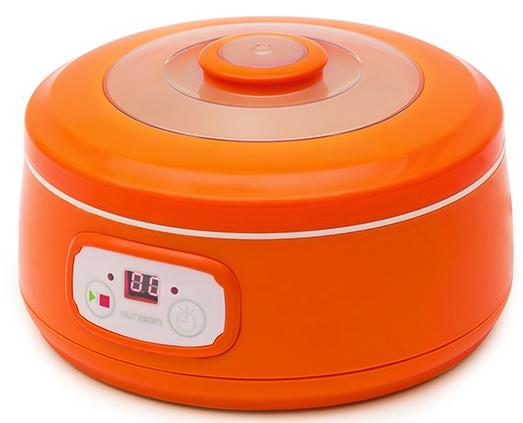 TRANSPORT GRATUIT - Aparat de facut iaurt Oursson FE1502D/OR, 20W, portocaliu