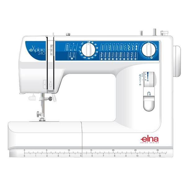 Masina de cusut ELNA EXPLORE 240 pentru materiale groase