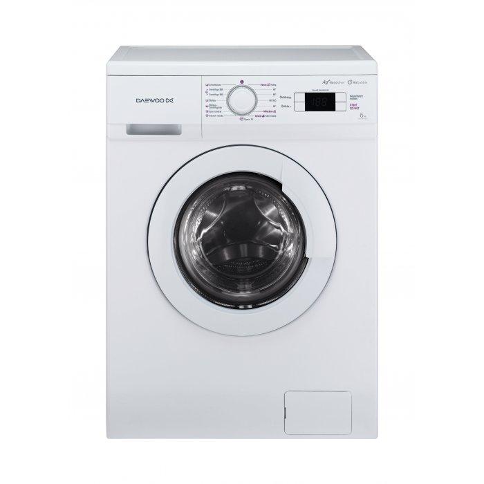 Masina de spalat rufe Daewoo DWD M 8051/6kg, 800 Rpm, Clasa A+, Alb