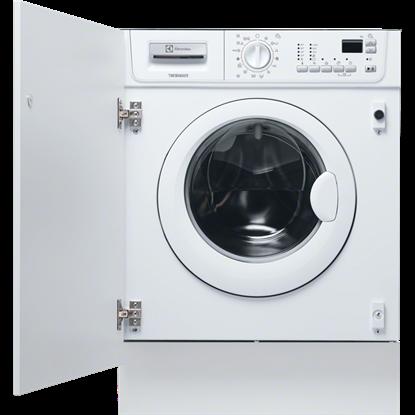 Masina de spalat rufe cu uscator incorporabila Electrolux EWX147410W, 7 kg, 1400 Rpm, Clasa B, alb
