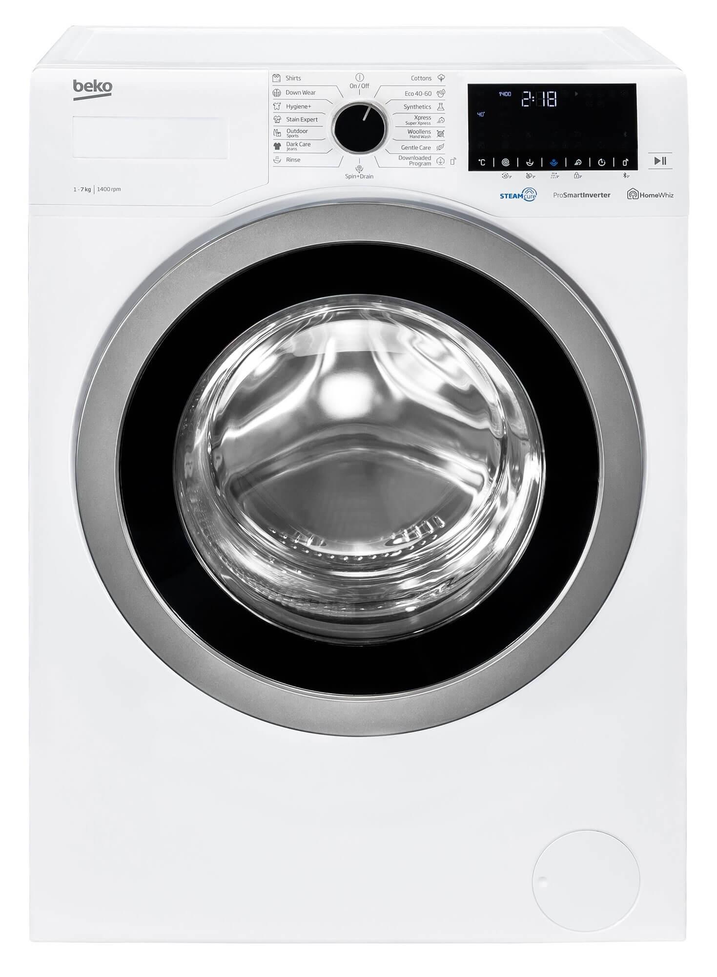 Masina de spalat rufe Beko WUE7736X0, 7 Kg, 1400 RPM, Alb, D