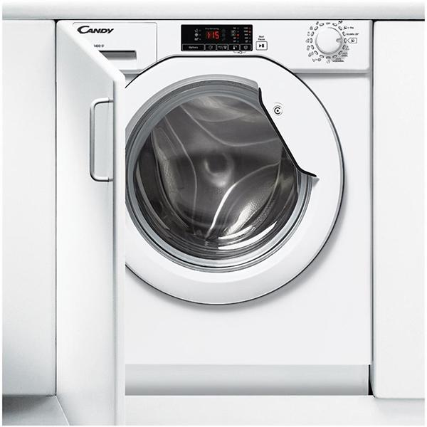 Masina de spalat rufe incorporabila CANDY CBWM 814D-S, 1400 rpm, 8kg, A+++, alb
