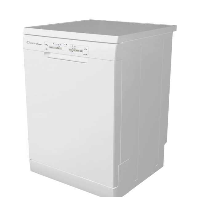 Masina de spalat vase Candy CDPN 1L390PW, Independenta, 13 seturi, 5 programe, Wi-Fi + Bluetooth, 60 cm, A +, Alb