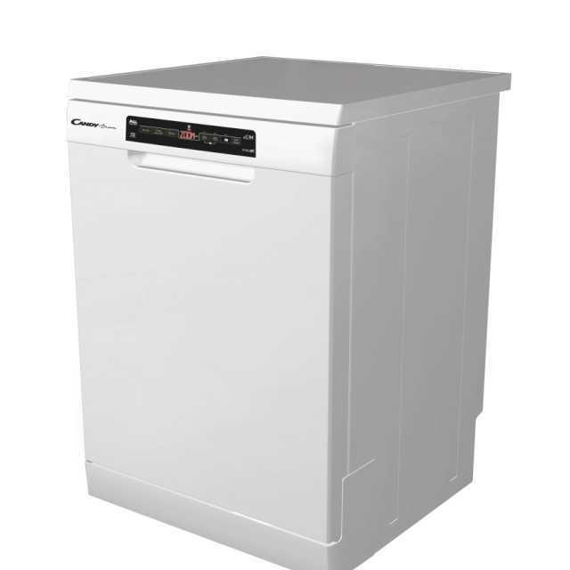 Masina de spalat vase Candy CDPN 4D620PWE, Independenta, 16 seturi, 9 programe, Incarcare pe jumatate, Wi-Fi + Bluetooth, 60 cm, A +++, Alb