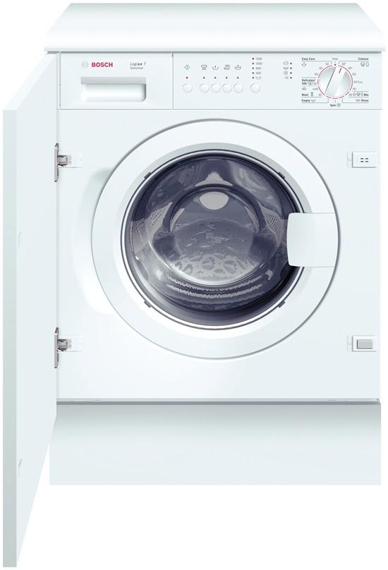 Masina de spalat rufe incorporabila BOSCH WIS24140EU, 7kg, 1200 Rpm, inox