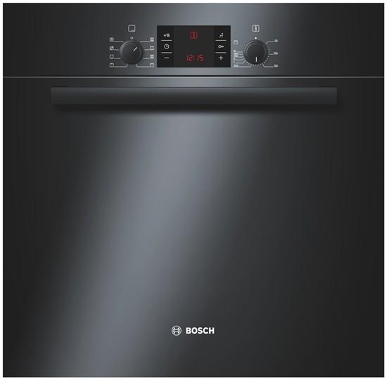 Cuptor incorporabil Bosch HBA43T360, Electric, Clasa A, Negru