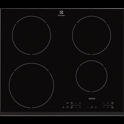 Plita incorporabila Electrolux EHH6340FOK, inductie, 4 zone, negru
