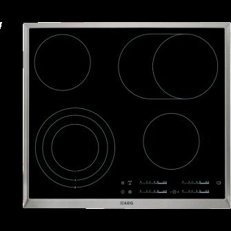 Plita incorporabila AEG HK365407XB, inductie, 4 arzatoare, negru
