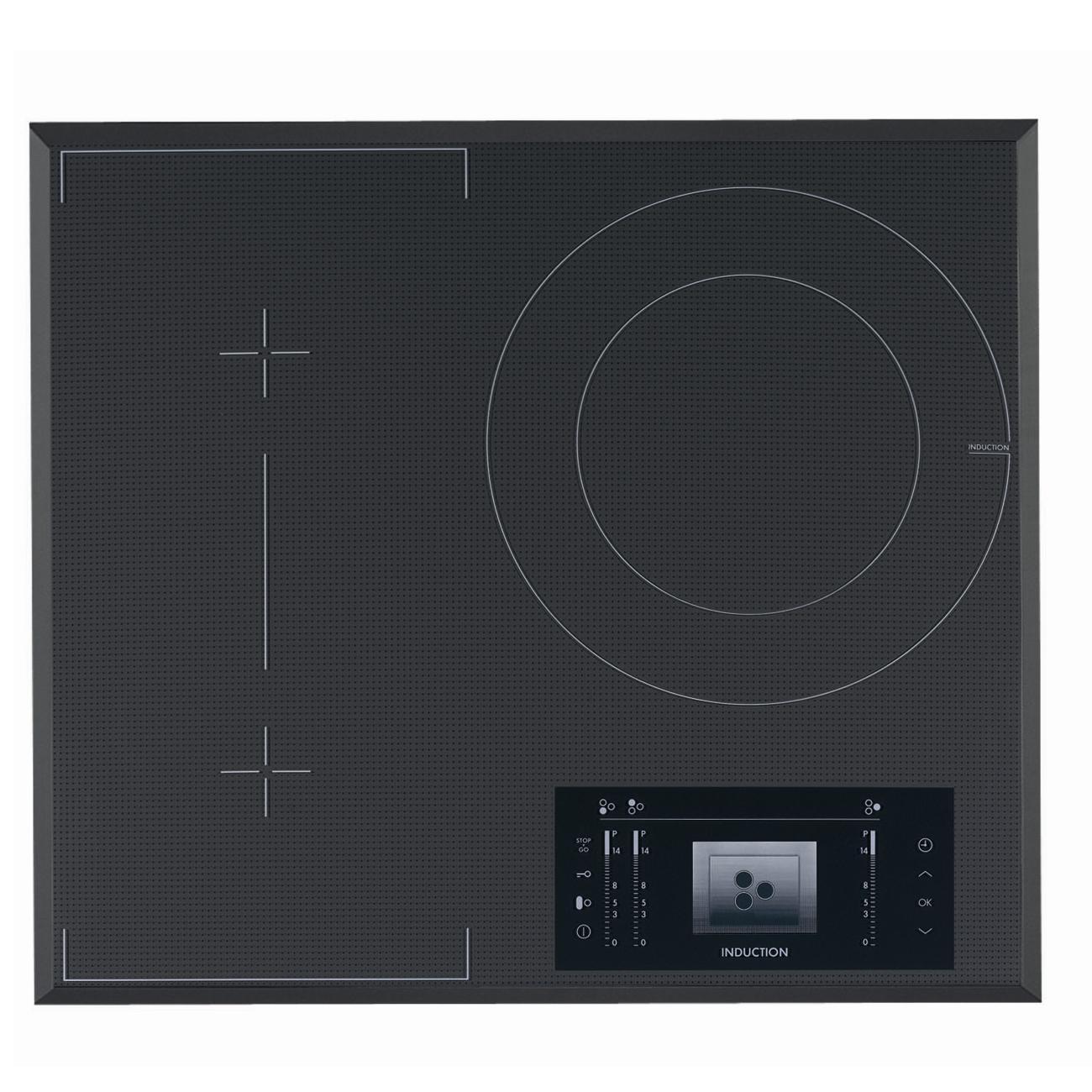 Plita incorporabila AEG HK683320FG, inductie, 4 arzatoare, gri