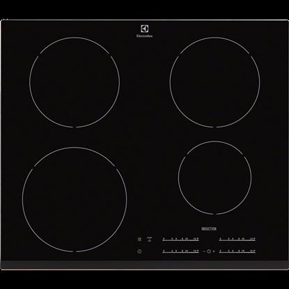 Plita Incorporabila Electrolux EHH6540FOK, inductie, 4 zone, negru