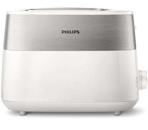 Prajitor de paine Philips 8 setari, Design compact HD2515/00