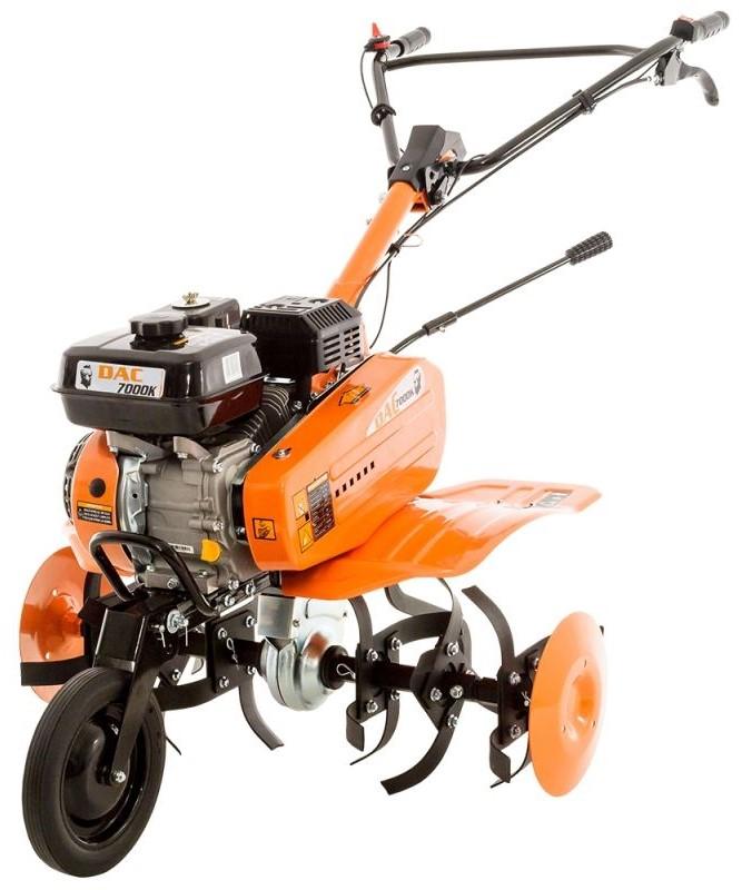 Motosapa Dac 7000ACC1 + roti cauciuc + roti met 300 fara manicot + rarita ajustabila