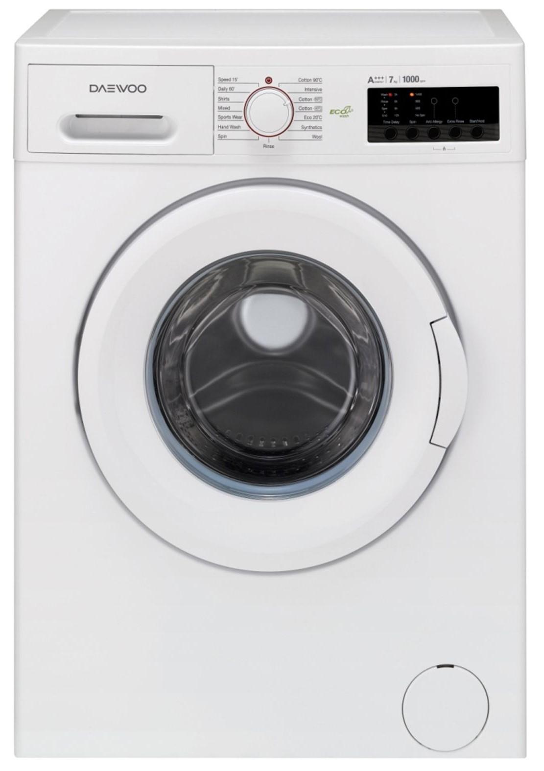Masina de spalat rufe Daewoo DWDFV2021, 7kg, 1000rpm