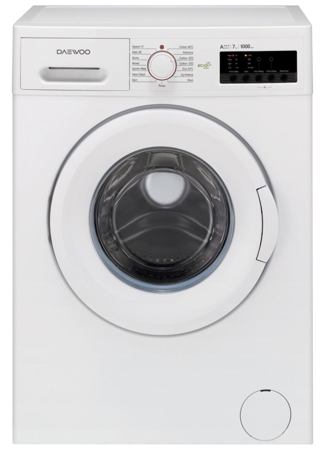 Masina de spalat rufe Daewoo DWD-FV2021-2, 7kg, A+++, Alb