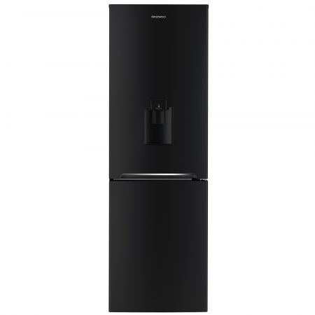 Combina frigorifica Daewoo RN-308RDQB, 305 l, NoFrost, A+, negru