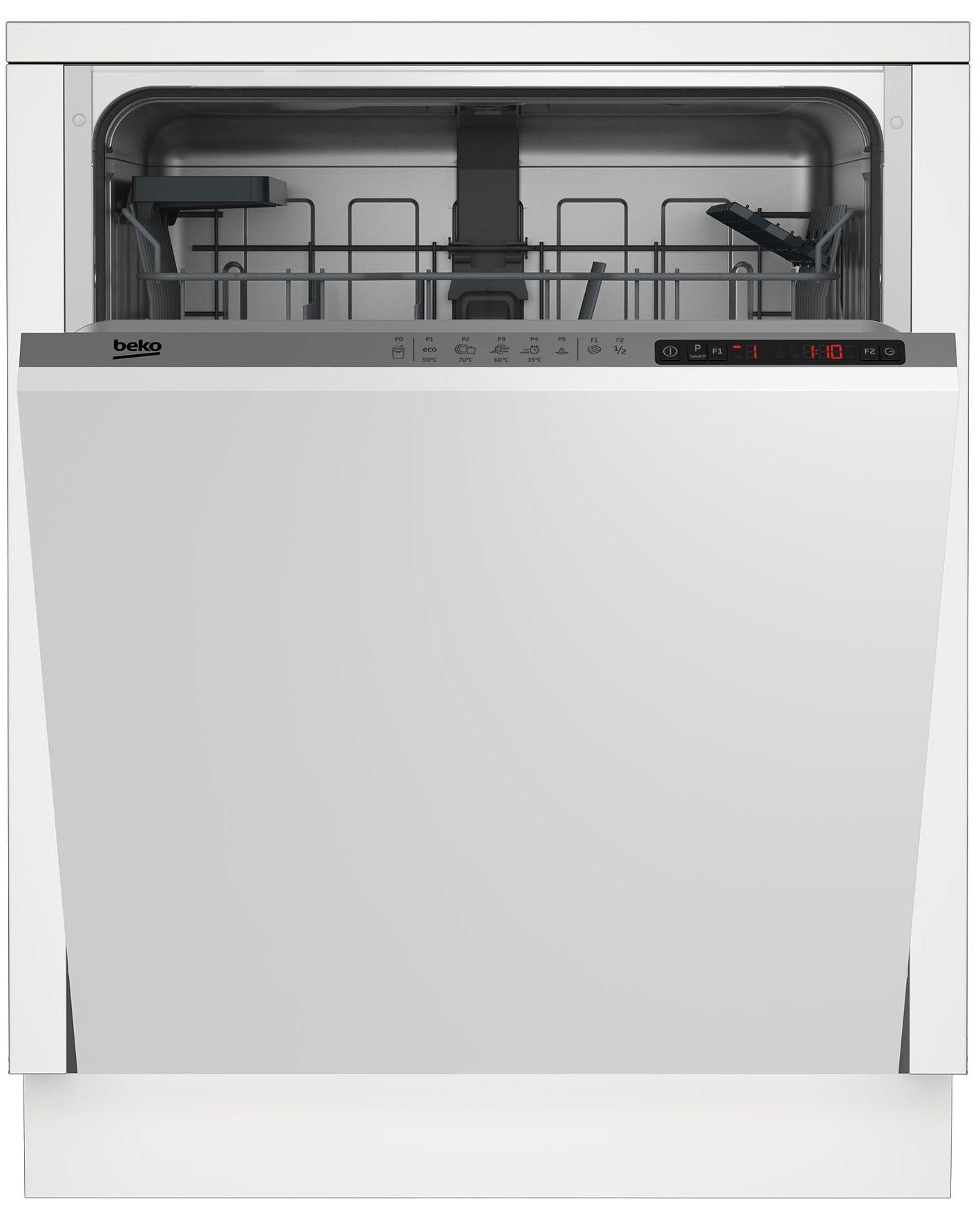 Masina de spalat vase incorporabila Beko DIN25310, 13 Seturi, Silver, A
