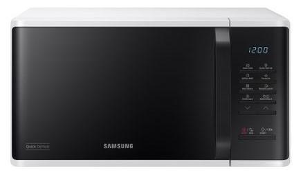 Cuptor cu microunde Samsung MS23K3513AW, 23l, Alb/Negru