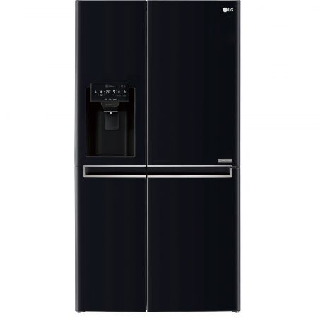 Side by Side cu Door in Door LG GSJ760WBXV, No Frost, 600 l, A+, negru