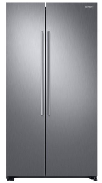 Combina frigorifica Side By side Samsung RS66N8100S9, 647l, Inox, A