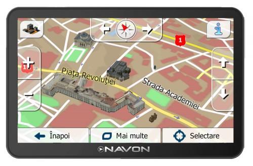 Sistem de navigatie GPS Navon N670FE iGO Primo