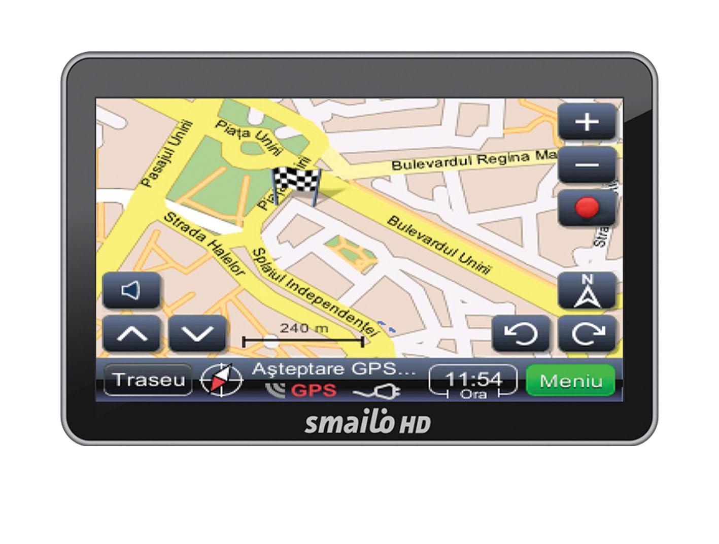 Sistem de navigatie GPS Smailo HD 4.3 RO 4.3