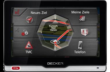 Sistem de navigatie Becker REVO 50 Eu iGO LifeTime