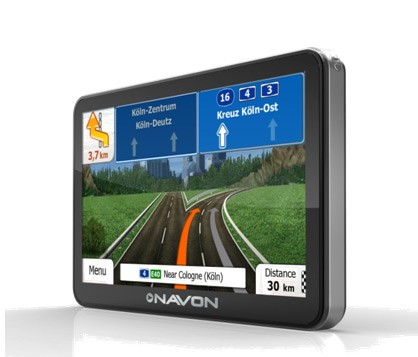 Sistem de navigatie GPS Navon N675 Plus BT FE, 5'', iGO Primo