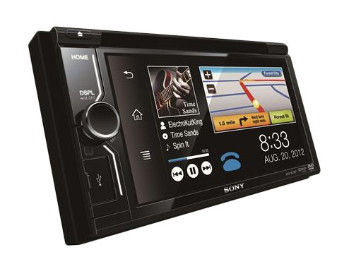 Sistem multimedia auto cu Bluetooth Sony XAV-601BT 2DIN