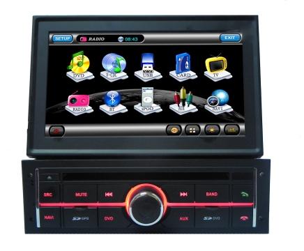 Sistem navigatie GPS + DVD + TV TTi-8994