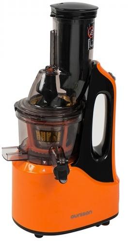 Storcator de fructe cu melc Oursson JM7002/OR, 240W, 60 RPM, portocaliu