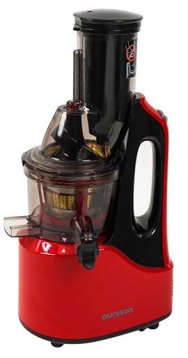 Storcator de fructe cu melc Oursson JM7002/RD, 240W, 60 RPM, rosu