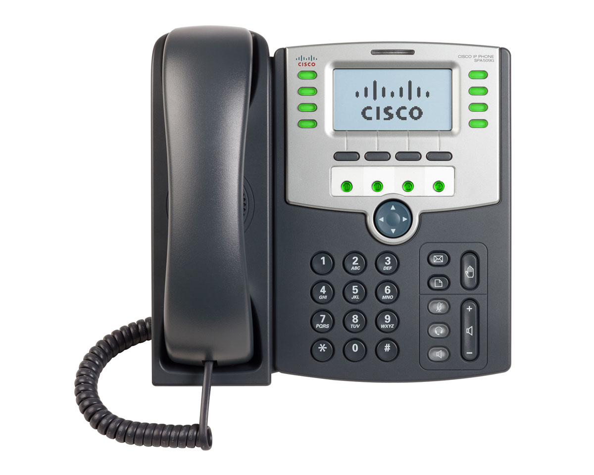 Telefon fix Cisco 12 Line IP SPA509G