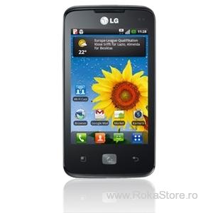 Telefon mobil LG E510 Optimus Hub Negru 45925