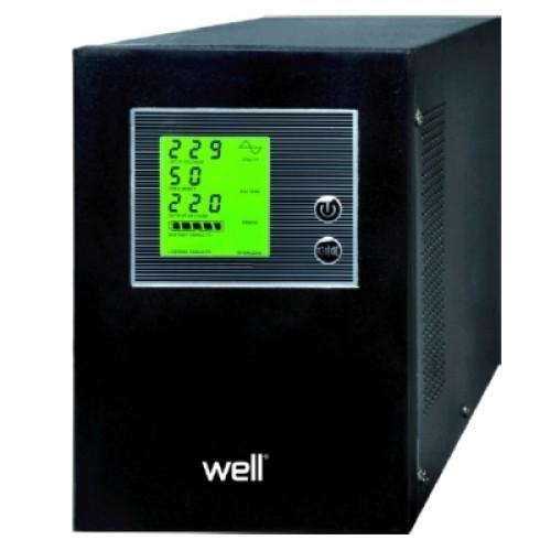 Sursa neintreruptibila UPS pentru centrale termice Well 1500VA/900W UPS-HEATST-1500VA-WELL