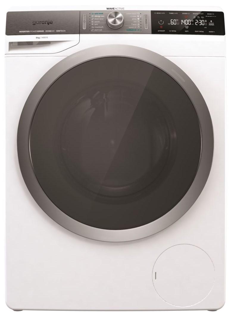 Transport Gratuit-Masina de spalat rufe Gorenje WS947LN, 9kg, 1400RPM, Alb, A
