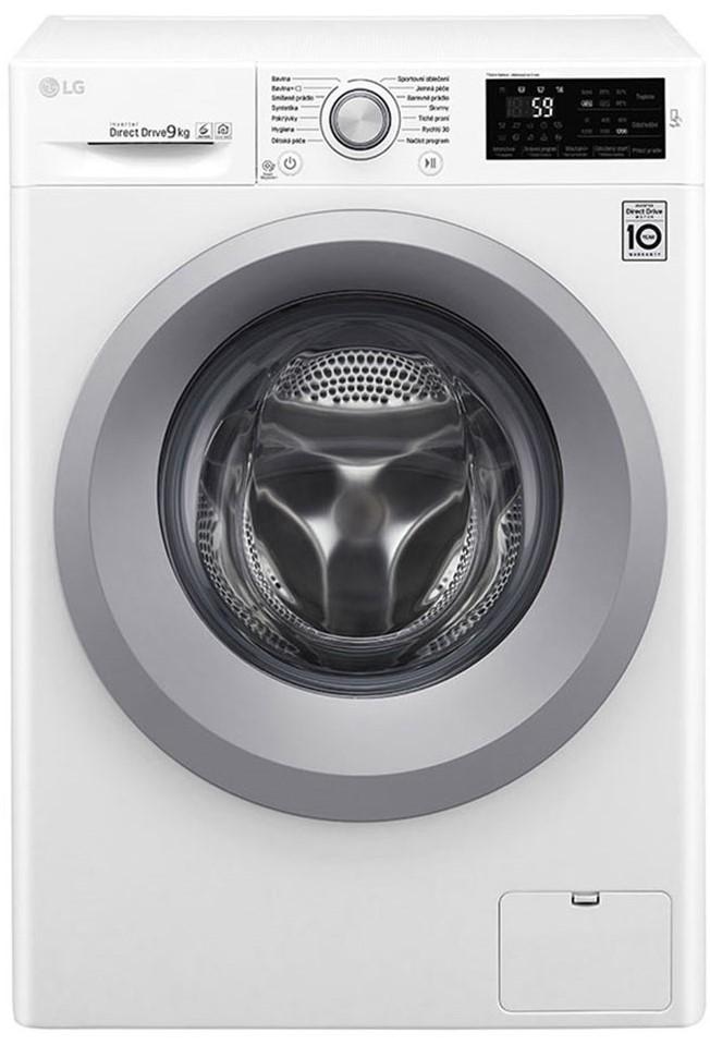 Masina de spalat rufe LG F4TURBO9S, 9 kg, 1400 RPM, Wi-fi, Alb, A